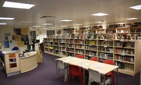 library at HMP Thameside